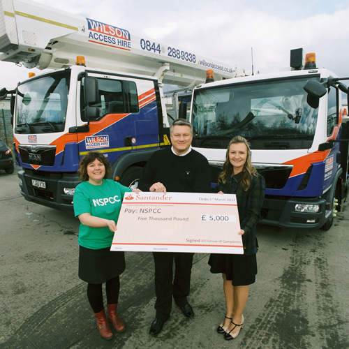 PRESS RELEASE: AFI Donates £5000 To The NSPCC
