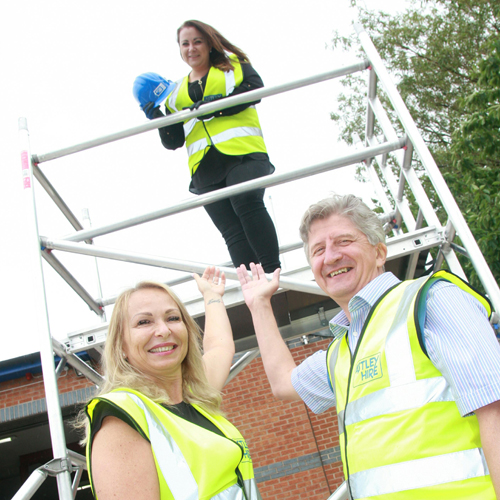 PRESS RELEASE: Astley Hire's Pam Is Fourth Woman In UK To Qualify As A Pasma Scaffolding Trainer