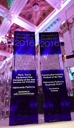 PRESS RELEASE: Double honours for Nationwide Platforms at the Hire Awards of Excellence
