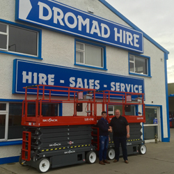 PRESS RELEASE: Dromad Hire Take Delivery of First Skyjack Scissor Lifts In Europe