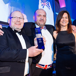 PRESS RELEASE: inspHire Awarded Supplier of the Year 2016