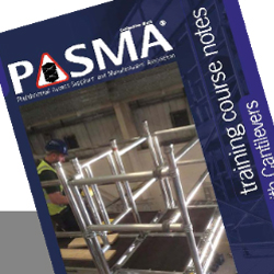 PRESS RELEASE: PASMA Launches New Advanced Training Course