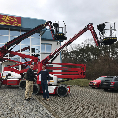 PRESS RELEASE: PlosinyRybacek Supplies First Niftlifts To Sico Rent