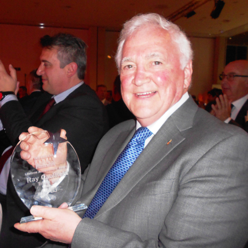 PRESS RELEASE: Ray Caulfield Wins The Lifetime Achievement Award