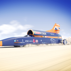 PRESS RELEASE: Seddons Plant Equipment Being Used for World Land Speed Record Attempt in October 2017