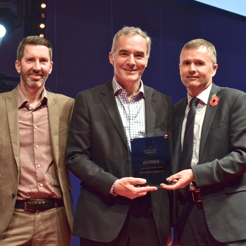 PRESS RELEASE: Seddons Plant Scoops Special Relationship Award at Speedy Expo