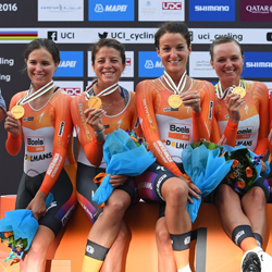 PRESS RELEASE: The Boels-Dolmans Cycling Team Wins Gold at The Team Time Trials World Championships