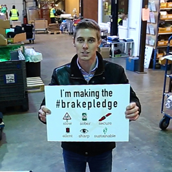 PRESS RELEASE: Top Racing Driver Calls On Company Drivers To 'Make The Pledge' To Drive Safely And Cut The Carnage