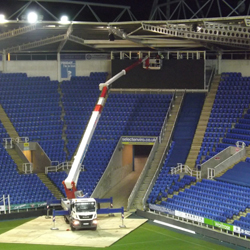 PRESS RELEASE: Wilson Access Truck Mount In Action At Reading FC