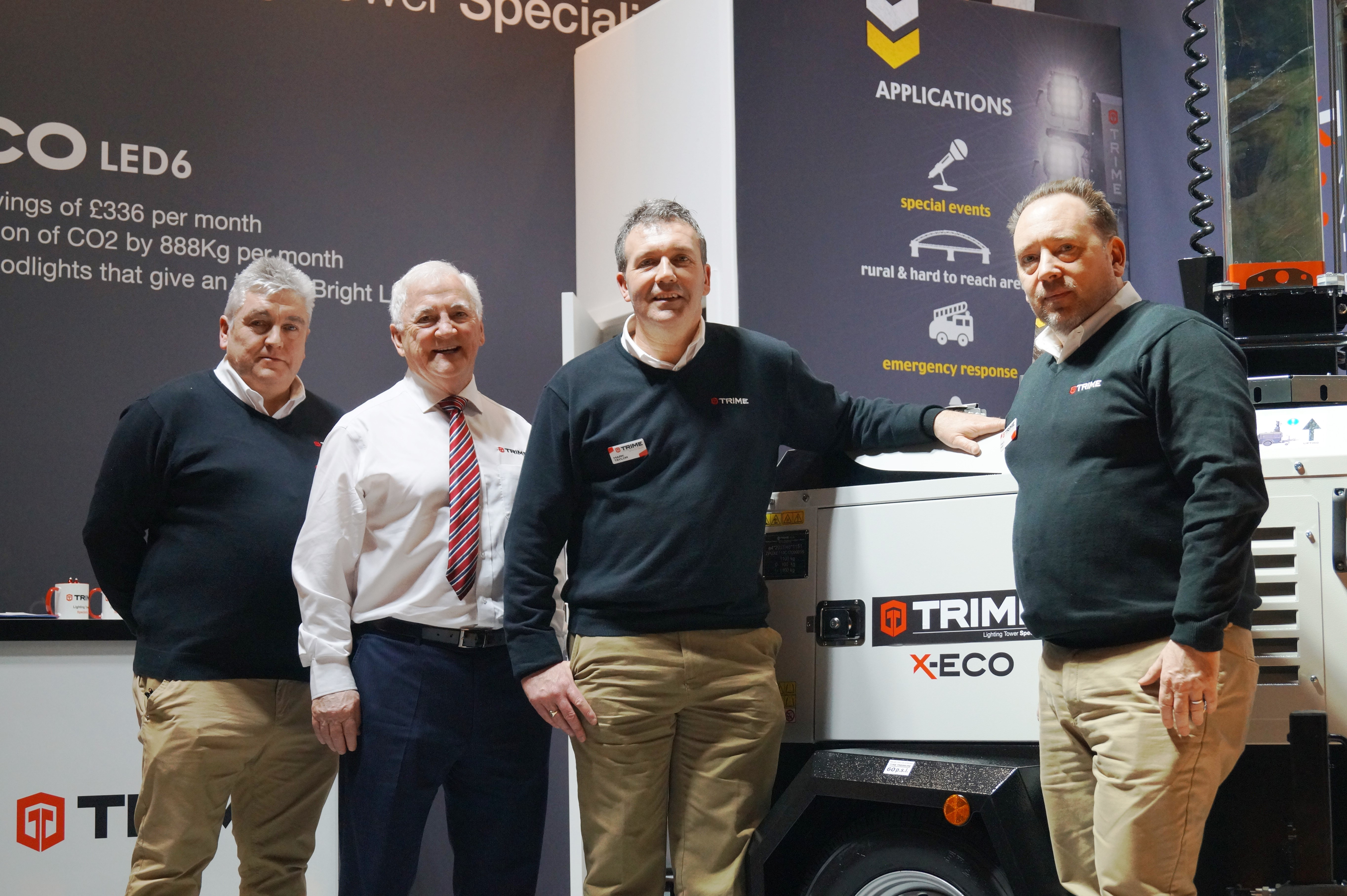 Trime to aim high at the Hire Association Europe Trade Fair and Convention