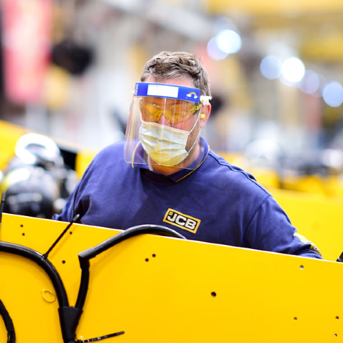 Comprehensive Safety Measures Unveiled as JCB Production Resumes