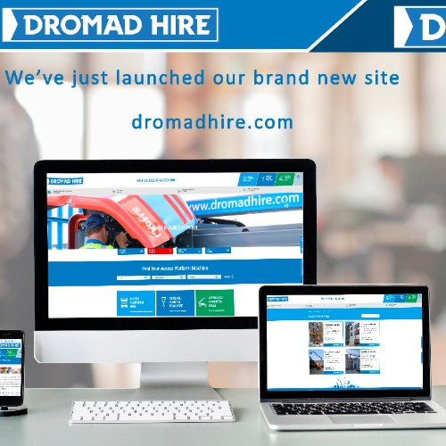 News Item: Dromad Hire Launches New User Friendly Website