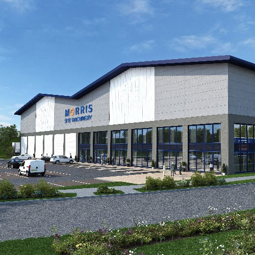 News Item: Morris Property to Develop Prime i54 Site for Sister Site Machinery Business