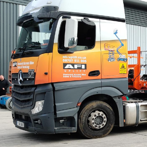 News Item: AFI Begin Taking Delivery of 15 New CAT2 HGV Trailers from Montracon
