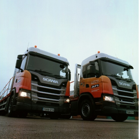 News Item: AFI Makes Substantial Delivery Fleet Investment With Scania