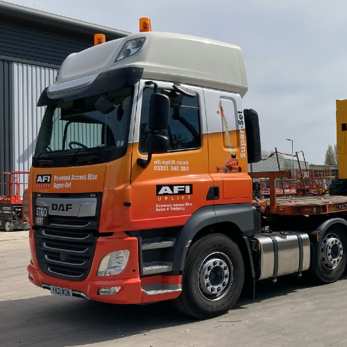 News Item: AFI-Uplift MEWP Delivery and Collection Fleet Now Equipped with Live Tracking
