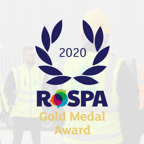 News Item: A-Plant Picks Up Prestigious RoSPA Award for the Ninth Consecutive Year
