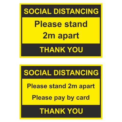 News Item: Atlantic Coast Studios Social Distancing Sticker Offer