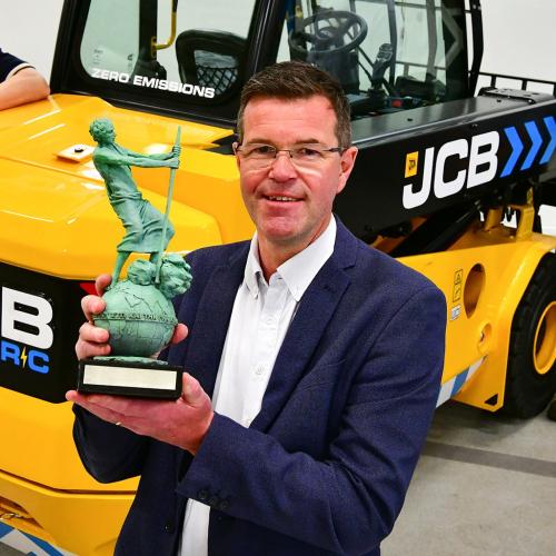 News Item: Award Honours Green Credentials of JCB's Electric Teletruk