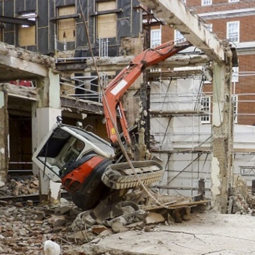 News Item: Construction Company Fined after Worker Killed During Demolition Work