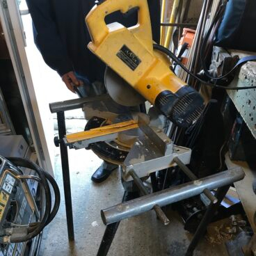 News Item: Construction Company Fined After Worker Seriously Injured by a Mitre Saw