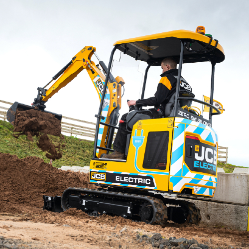 News Item: CP Hire Brings the Benefits of JCB E-TECH to Northern Ireland