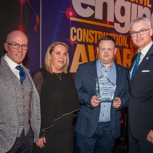 News Item: Dromad Hire Group Named 'Irish Plant Hire Company of the Year 2019'