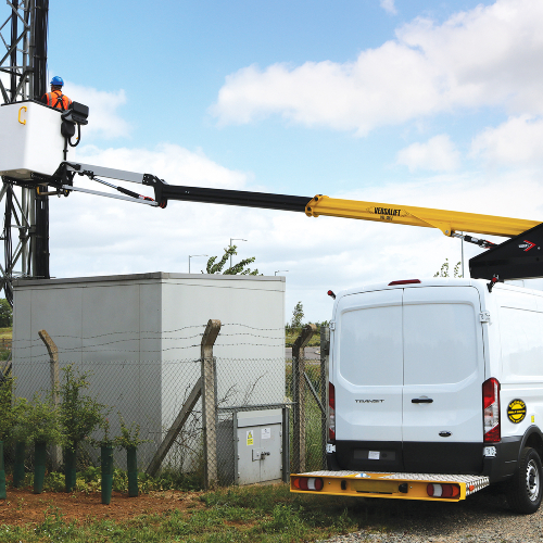 News item: Facelift Invests in 32 Versalift Ford Transit Van Mounted Platforms