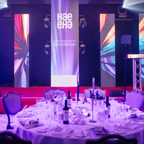 News Item: Finalists and Real Time Livestream Announced for Virtual Hire Awards of Excellence 2021