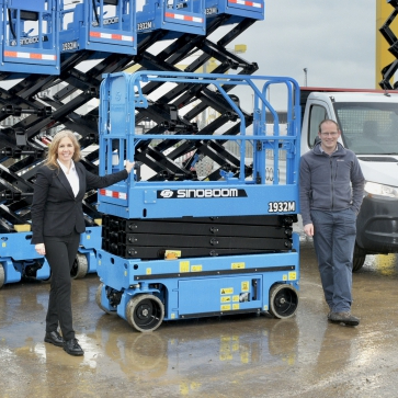 News Item: First Sinoboom Units in the UK Delivered to Balloo Hire Centres