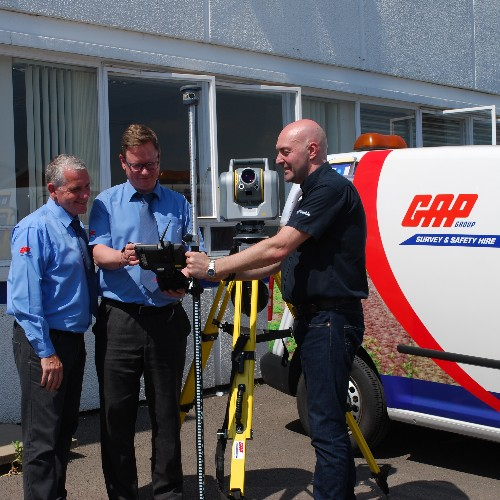 News Item: GAP Adds Trimble SX10 to its UK Hire Fleet