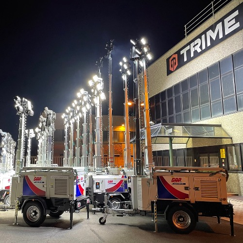 News Item: GAP Hire Solutions Add More Trime Fuel-free Lighting Towers