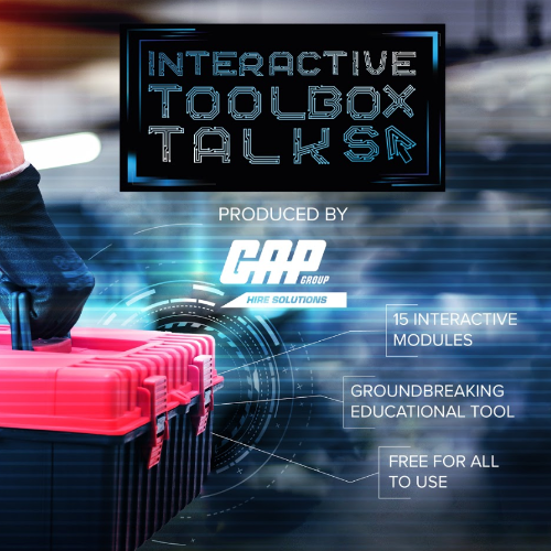 News Item: GAP Launch Interactive Toolbox Talks