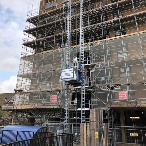 News Item: GEDA 1500ZZP Passenger and Materials Hoist Now Available from Rapid Platforms