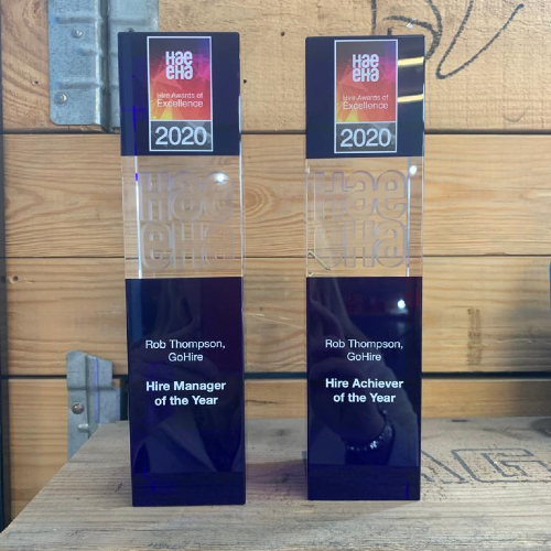 News Item: GoHire Wins Twice at the Hire Awards of Excellence 2020