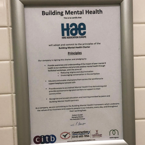 News Item: HAE EHA Adopts BMH Charter to Raise Awareness of Mental Health