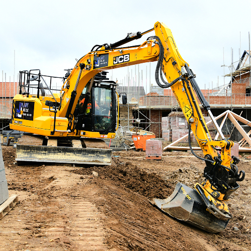 News Item: High Spec JCB 140X Doubles Production Speed for North East Plant Hirer