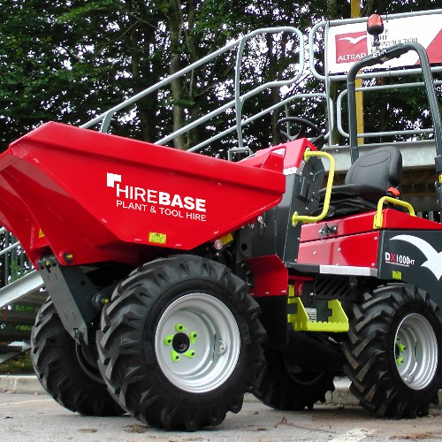 News Item: Hirebase Invests in the Altrad Belle DX1000HT High Tip Dumper