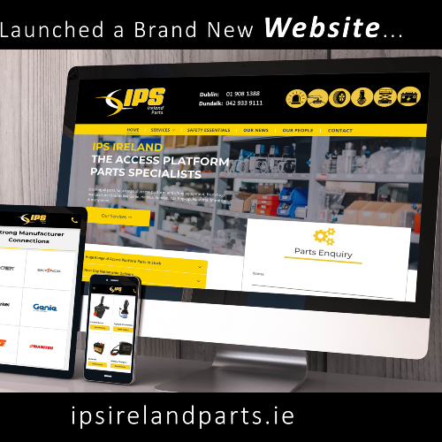 News Item: IPS Ireland Launches Brand New Website