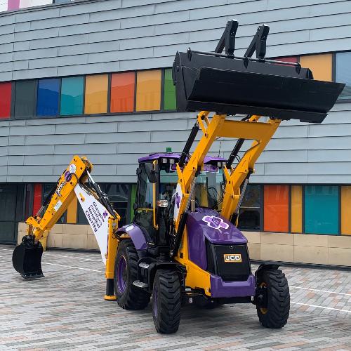News Item: JCB Helps Lomond Dig Deep for Children's Charity