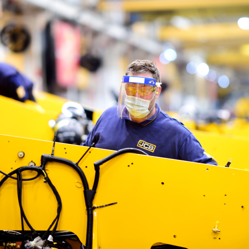 News Item: JCB Launches Recruitment Drive as Production Set to Surge