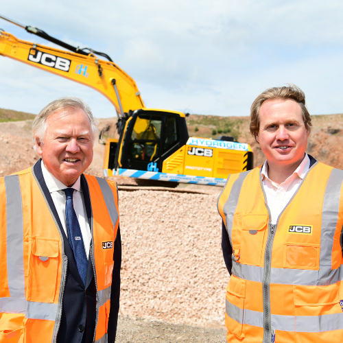 News Item: JCB Leads the Way with First Hydrogen Fuelled Excavator