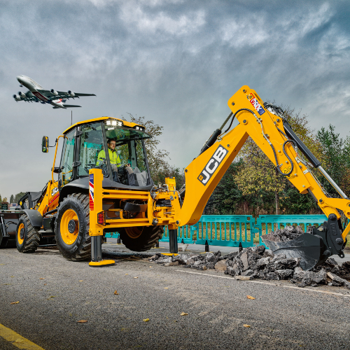 News Item: JCB Updates Market Leading 55kW 3CX Backhoe Loader