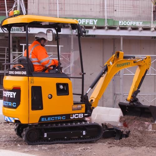 News Item: JCB Electric Minis are Emissions Game Changer for J Coffey