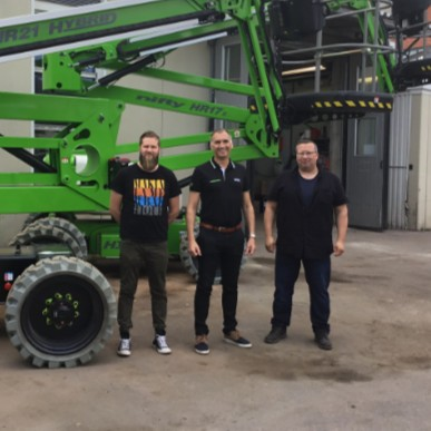 News Item: JS-Multi Service Becomes Dealer for Niftylift