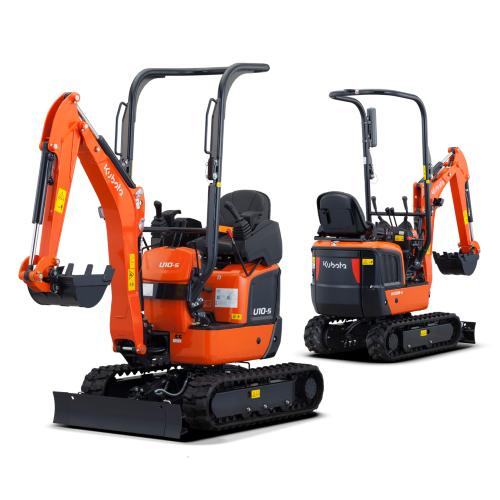 News Item: Kubota Launches New and Improved Micro Excavators