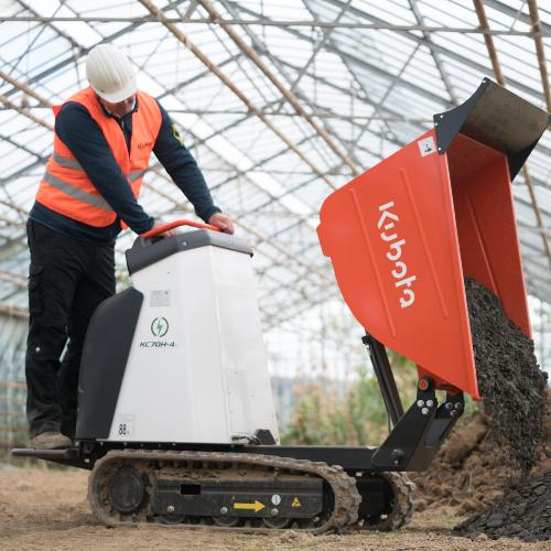 News Item: Kubota Launches Smart Energy Solutions Machine Range