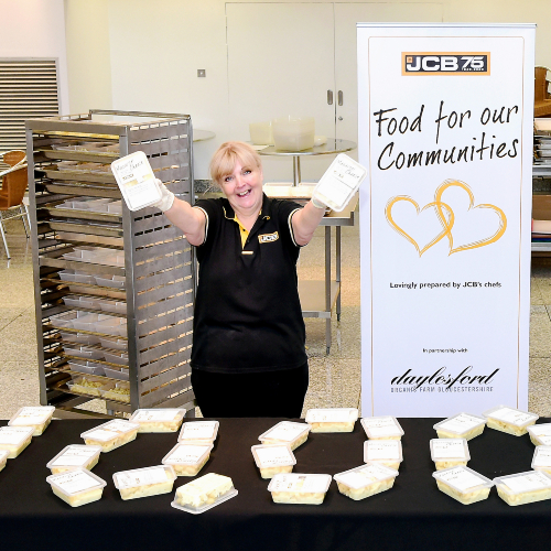 News Item: Milestone Moment as 10,000th JCB Meal Served Up for County's Needy