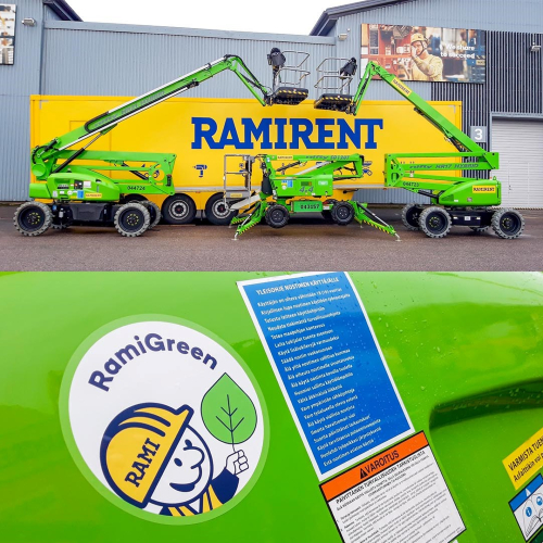 News Item: More Niftylifts for Ramirent
