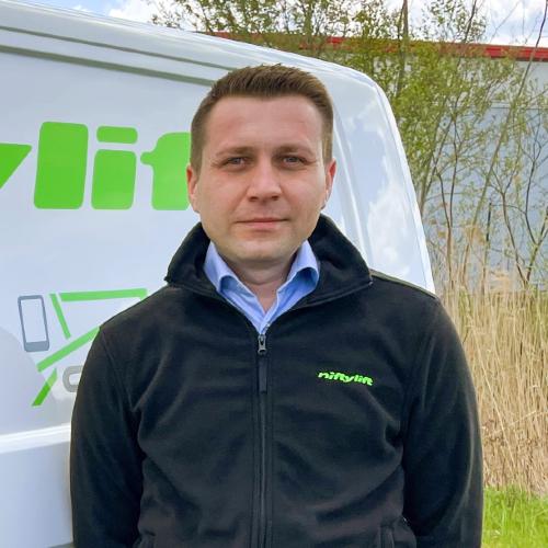 News Item: Niftylift Welcomes Aleksej Borisov to its European Sales Team